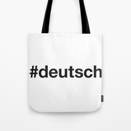 GERMAN Tote Bag