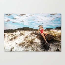 """""""End of Summer"""" Canvas Print"""