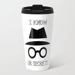 I know Travel Mug