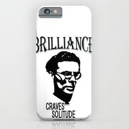 Brilliance Craves Solitude | Aldous Leonard Huxley iPhone Case