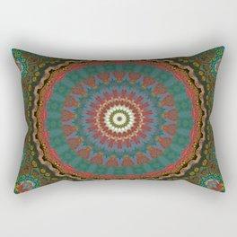 Basal Color Mandala 12 Rectangular Pillow