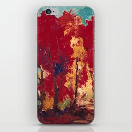 Strange Day in a Forest iPhone Skin