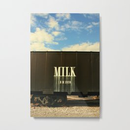 Milk Train Metal Print