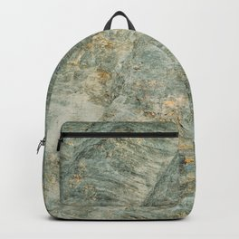 Natural Mountain Rock, Rocky Texture, Rough Background, Hard Rock Pattern, Mountains Wallpaper Backpack