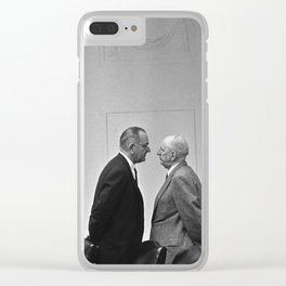 LBJ Giving The Treatment Clear iPhone Case