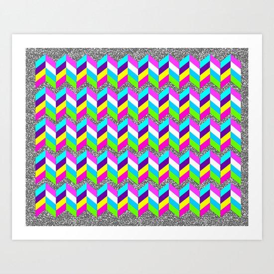 Glitter Guild Art Print