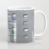 doors Mugs featuring Coloured doors by Marieken