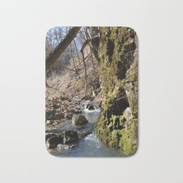 Alone in Secret Hollow with the Caves, Cascades, and Critters, No. 7 of 20 Bath Mat