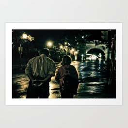Let's Grow Old Together Art Print