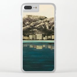 Azure Alaska Clear iPhone Case