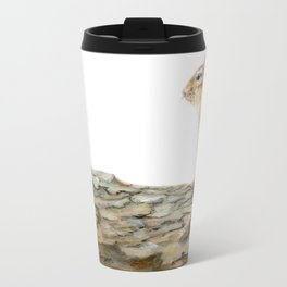 Little Chip - a painting of a Chipmunk by Teresa Thompson Travel Mug