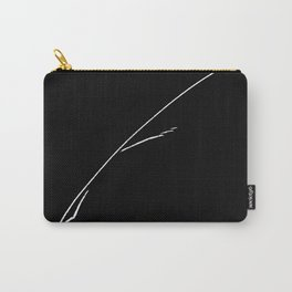 White Writer's Quill Carry-All Pouch