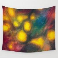 smoke Wall Tapestries featuring Smoke by TheMartianPotato