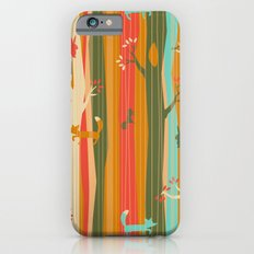 Woodland Stripe Orange iPhone 6s Slim Case