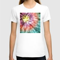 tie dye T-shirts featuring Color Filled Tie Dye by Phil Perkins
