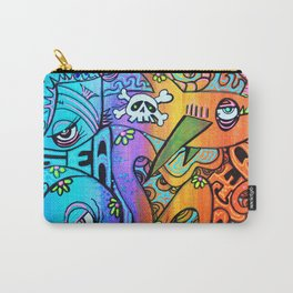 Ocean By The Sea Carry-All Pouch