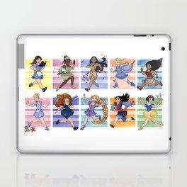 Princesses Run To Win Laptop & iPad Skin