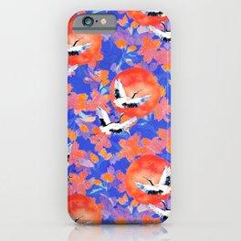 Japanese Garden: Cranes, Sun and Blossoms LT iPhone Case
