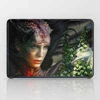 dragons iPad Cases featuring Dragons by Nell Fallcard