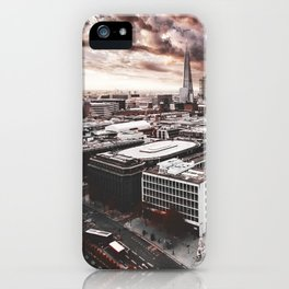 the shard in london iPhone Case