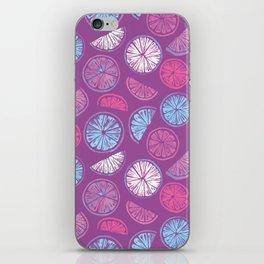 Citrus Wheels - Plum and Berry iPhone Skin
