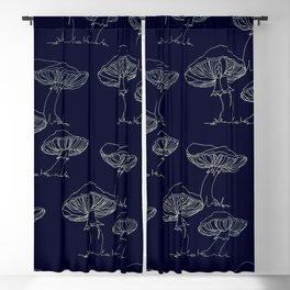 Mushroom Pattern II Blackout Curtain