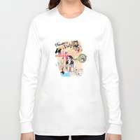 florence Long Sleeve T-shirts featuring Florence, Italy by Olive Primo Design + Illustration