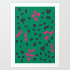 Animal Love Art Print