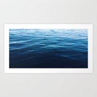 Calmed Waters  Art Print