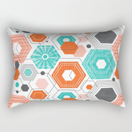 Too Hip To Be Square Rectangular Pillow