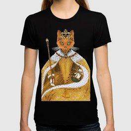 Queen Elizabeth I - historiCATS edition T-shirt