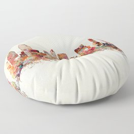 san diego california Floor Pillow