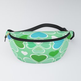 Hearts Flower Creation 5 Fanny Pack