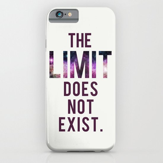 The Limit Does Not Exist - Mean Girls quote from Cady Heron iPhone & iPod Case