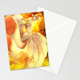 Ninetales Stationery Cards