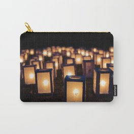 Christmas Luminaries Carry-All Pouch