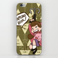 gravity falls iPhone & iPod Skins featuring Mabel Pines - Gravity Falls  by BlacksSideshow