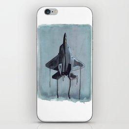 Liquid Steel iPhone Skin