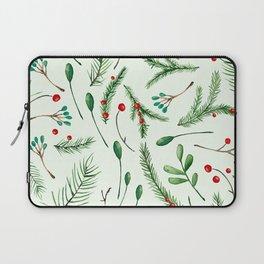 Watercolor pine tree Laptop Sleeve