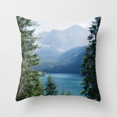 Eibsee #2 Throw Pillow