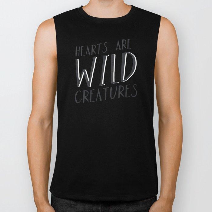 Wild Creatures Biker Tank