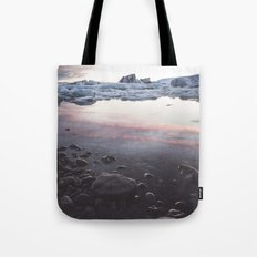 Jokulsarlon Lagoon - Sunset Tote Bag