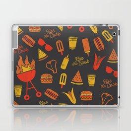 Kiss the Cook - Dark Palette Laptop & iPad Skin