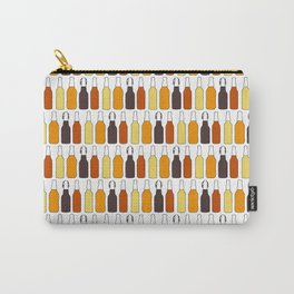 Vintage Beer Bottles Carry-All Pouch