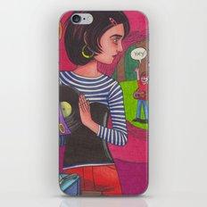 Disco Girl iPhone & iPod Skin