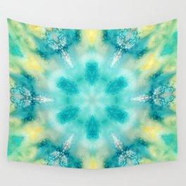 watercolor tie dye Wall Tapestry
