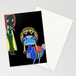 Vivi and Carou Stationery Cards
