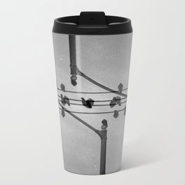 Landscapes (35mm Double Exposure) Metal Travel Mug