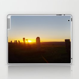 Walk in the evening Laptop & iPad Skin