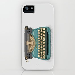 Writer's Block iPhone Case